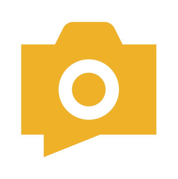 Photo Album Symbol - Yellow